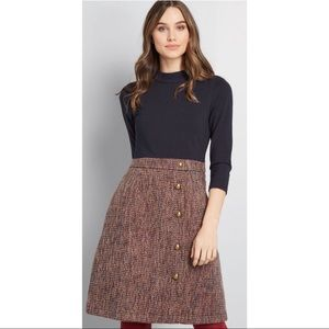 ModCloth Partners in Posie Twofer Dress, Size M
